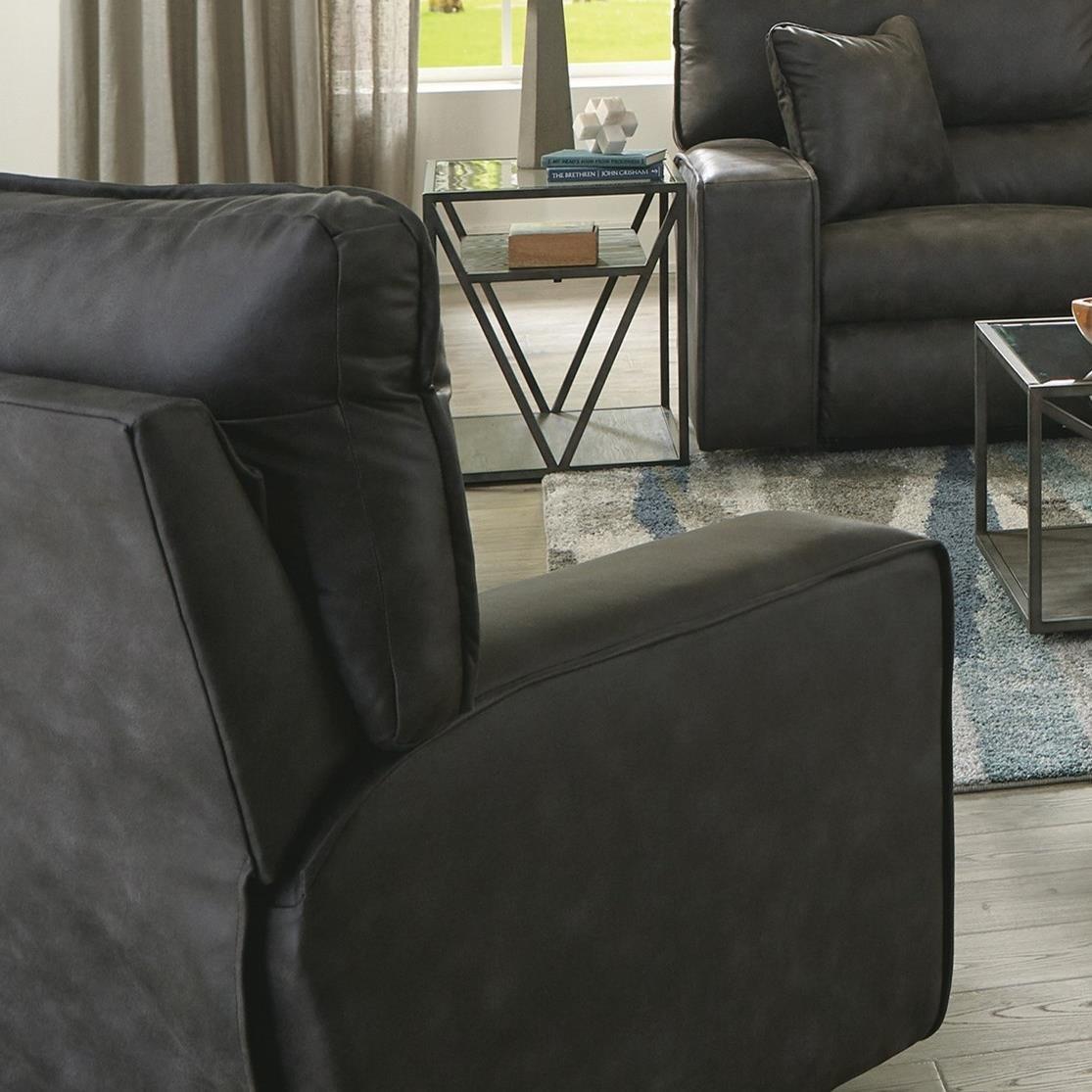 Lucas Power Headrest w/ Lumbar Power Lay Flat Recl at Sadler's Home Furnishings