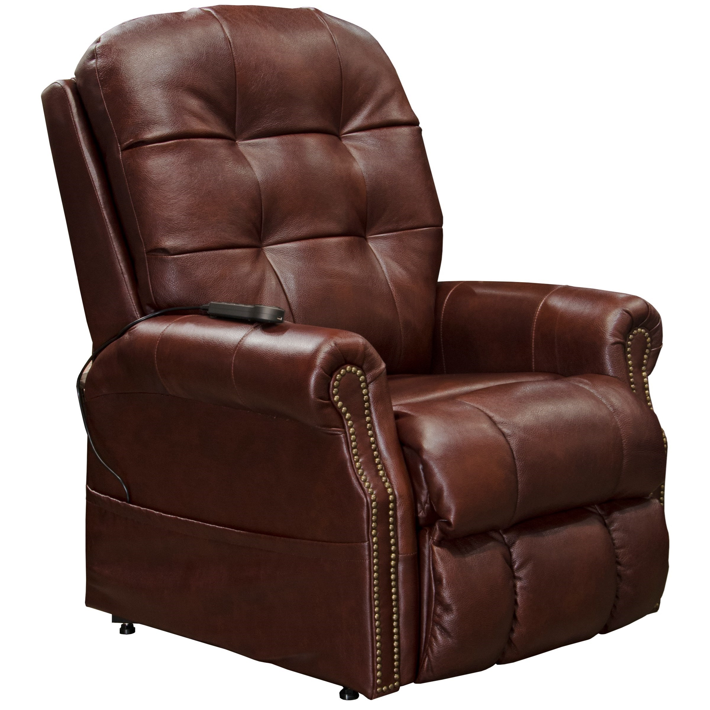 Madison Power Lift Lay Flat Recliner by Catnapper at Value City Furniture
