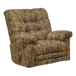Catnapper Motion Chairs and Recliners Cloud Nine Duck Dynasty Rocker Recliner
