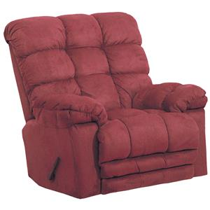 Catnapper Motion Chairs and Recliners Magnum Chaise Rocker Recliner