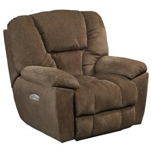 Owens Power Headrest Lay Flat Recliner with Lumbar