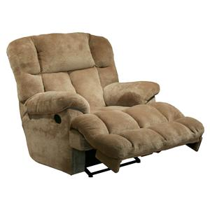 Catnapper Motion Chairs and Recliners Cloud 12 Power Chaise Recliner with Lay Flat