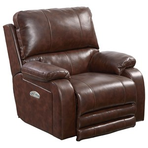 Thornton Power Lay Flat Recliner with Power Headrest