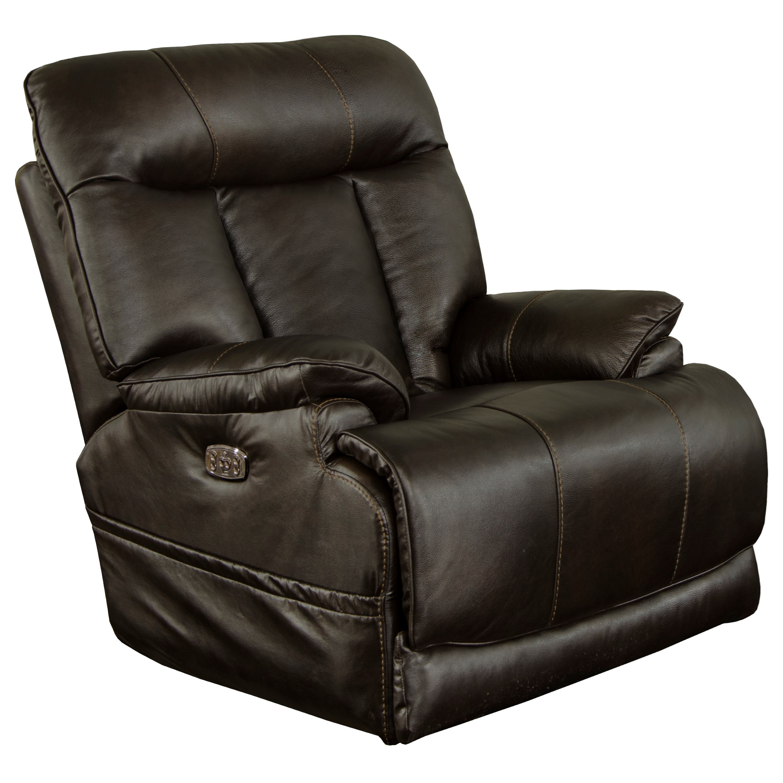Naples Power Lay Flat Recliner by Catnapper at Northeast Factory Direct