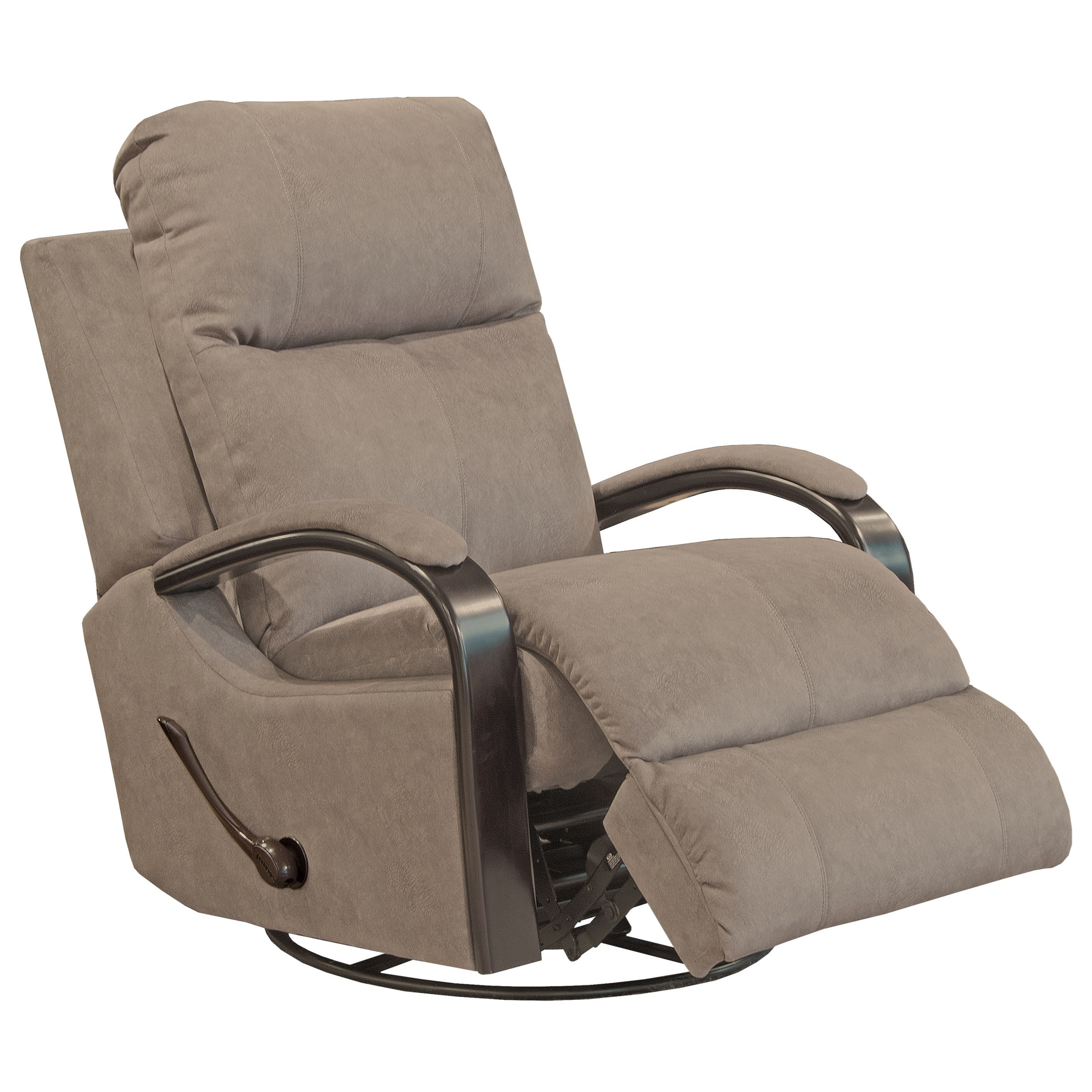 Niles Swivel Glider Recliner by Catnapper at Northeast Factory Direct