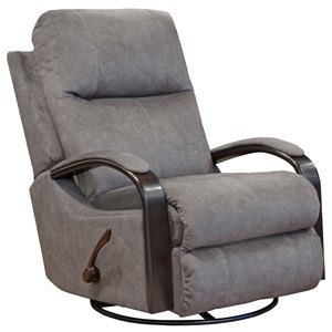 Swivel Glider Recliner with Track Arms
