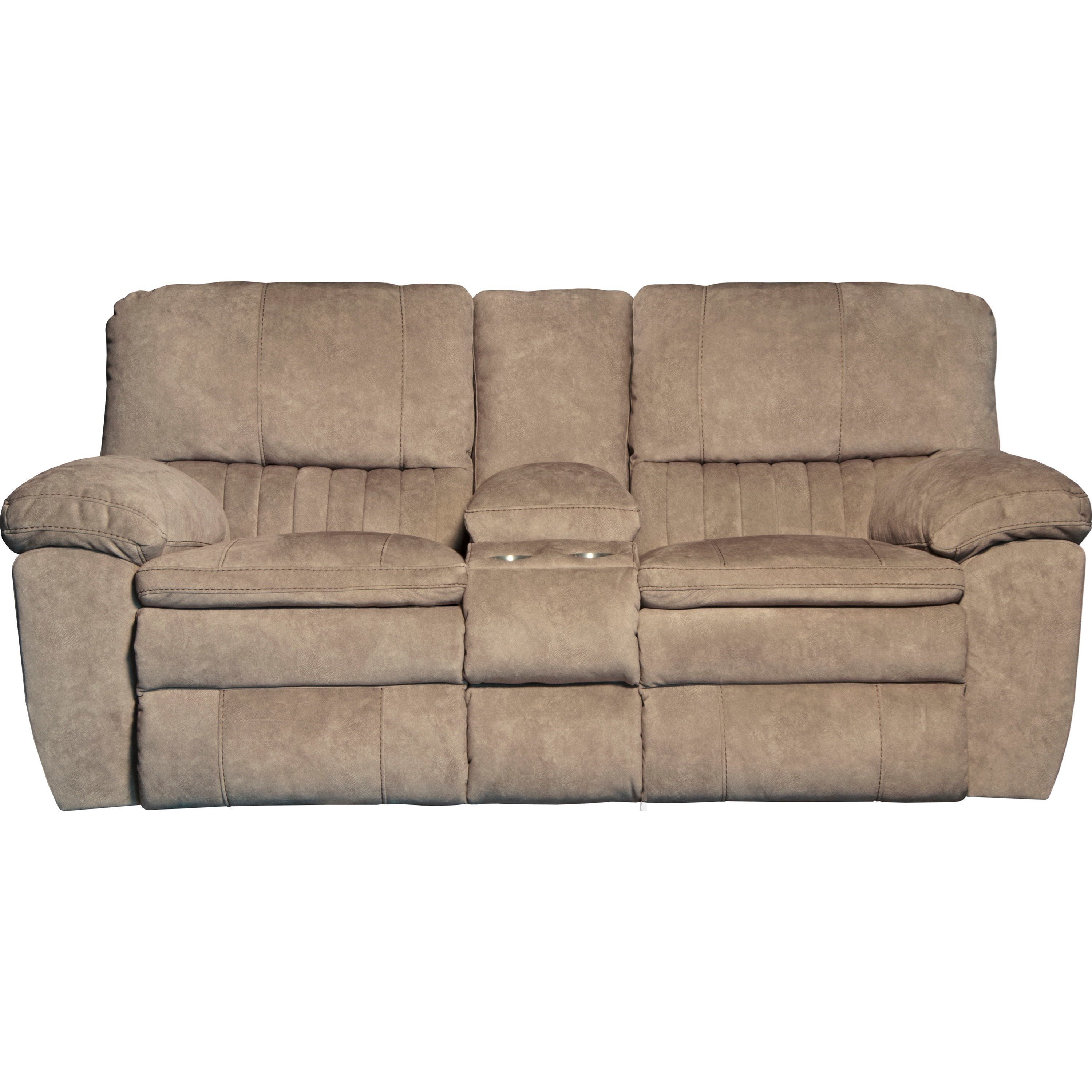 Reyes Lay Flat Reclining Console Loveseat by Catnapper at Lindy's Furniture Company