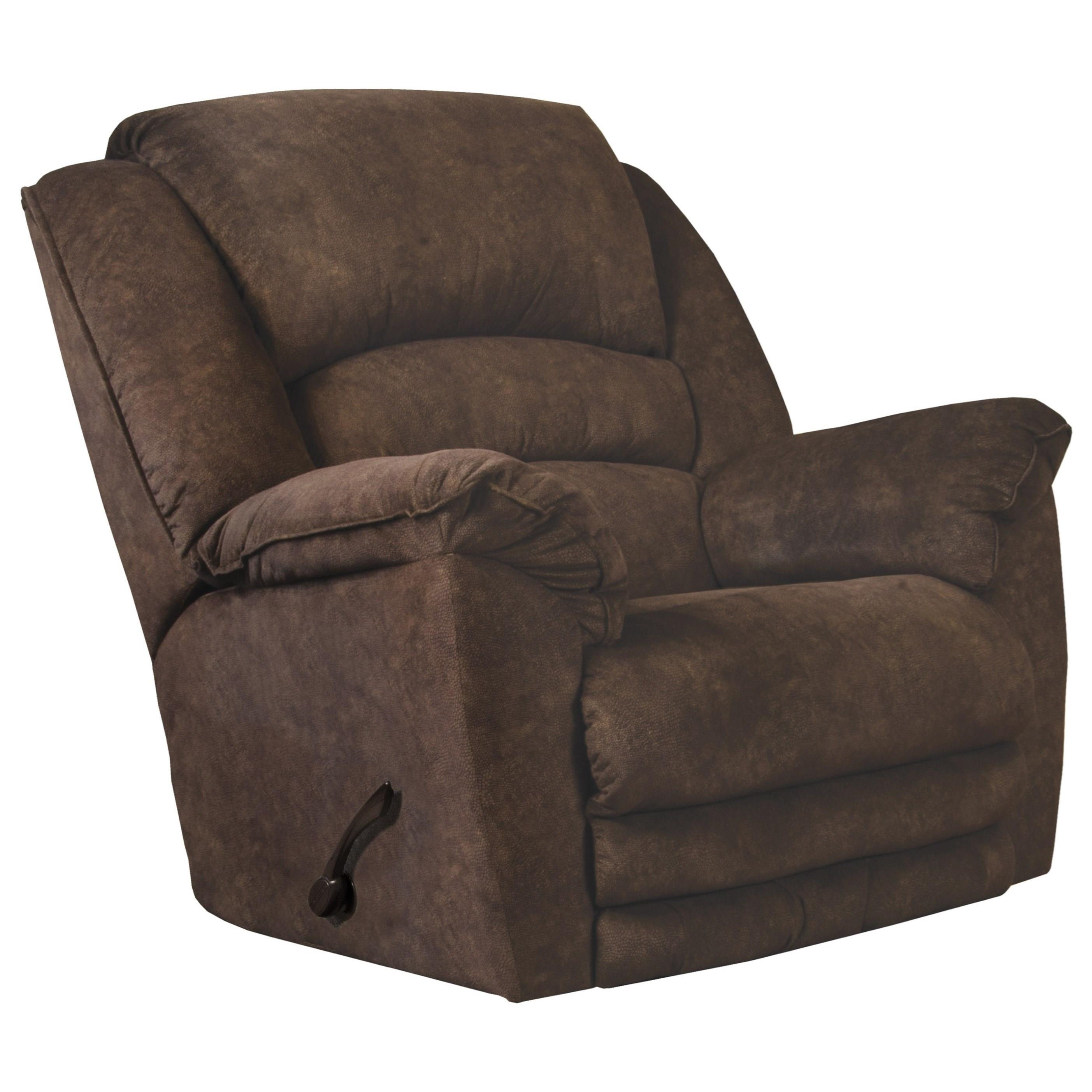 Rialto Chaise Rocker Recliner w/ Extended Footrest by Catnapper at Northeast Factory Direct