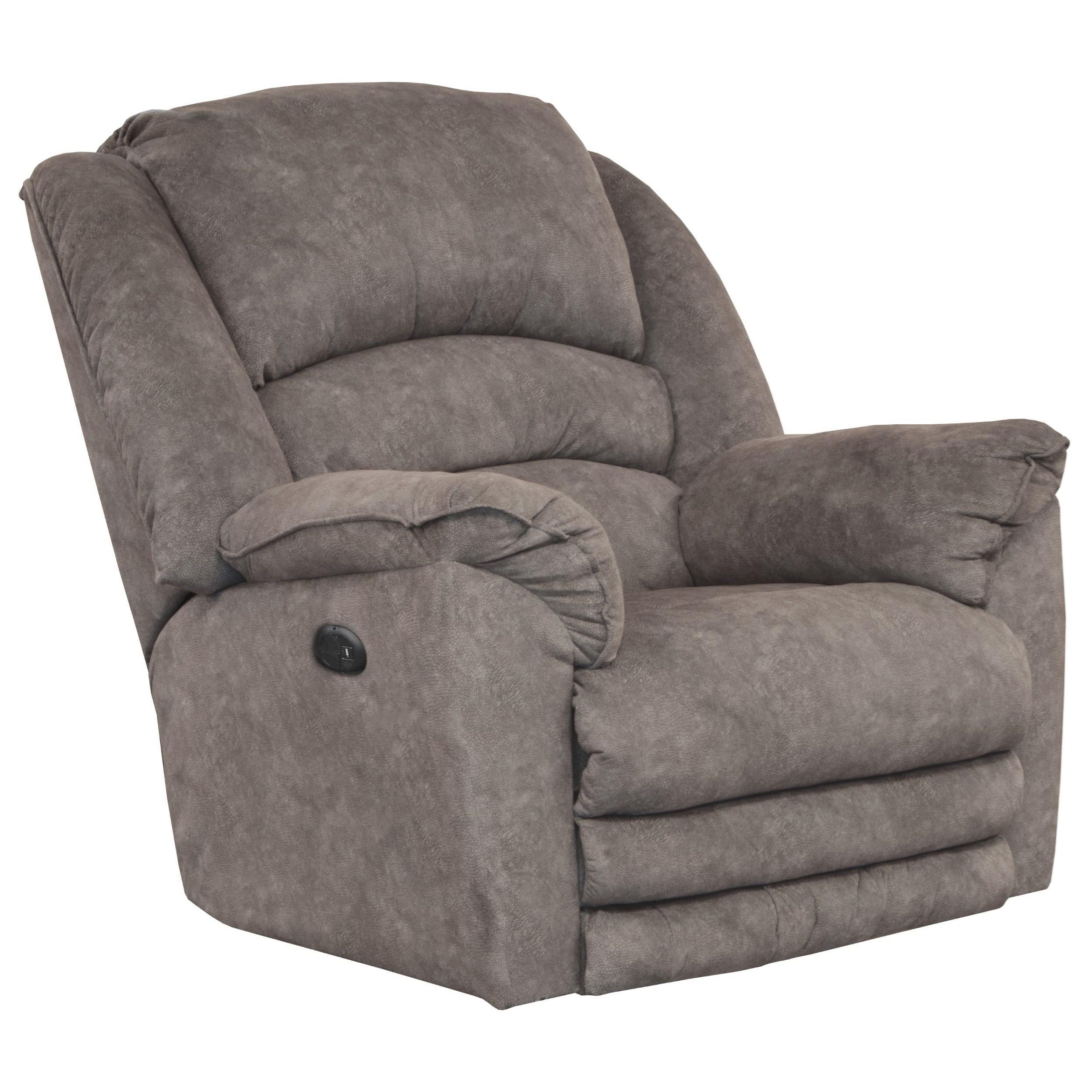 Rialto Power Lay Flat Recliner w/ Extended Footrest by Catnapper at Zak's Home Outlet