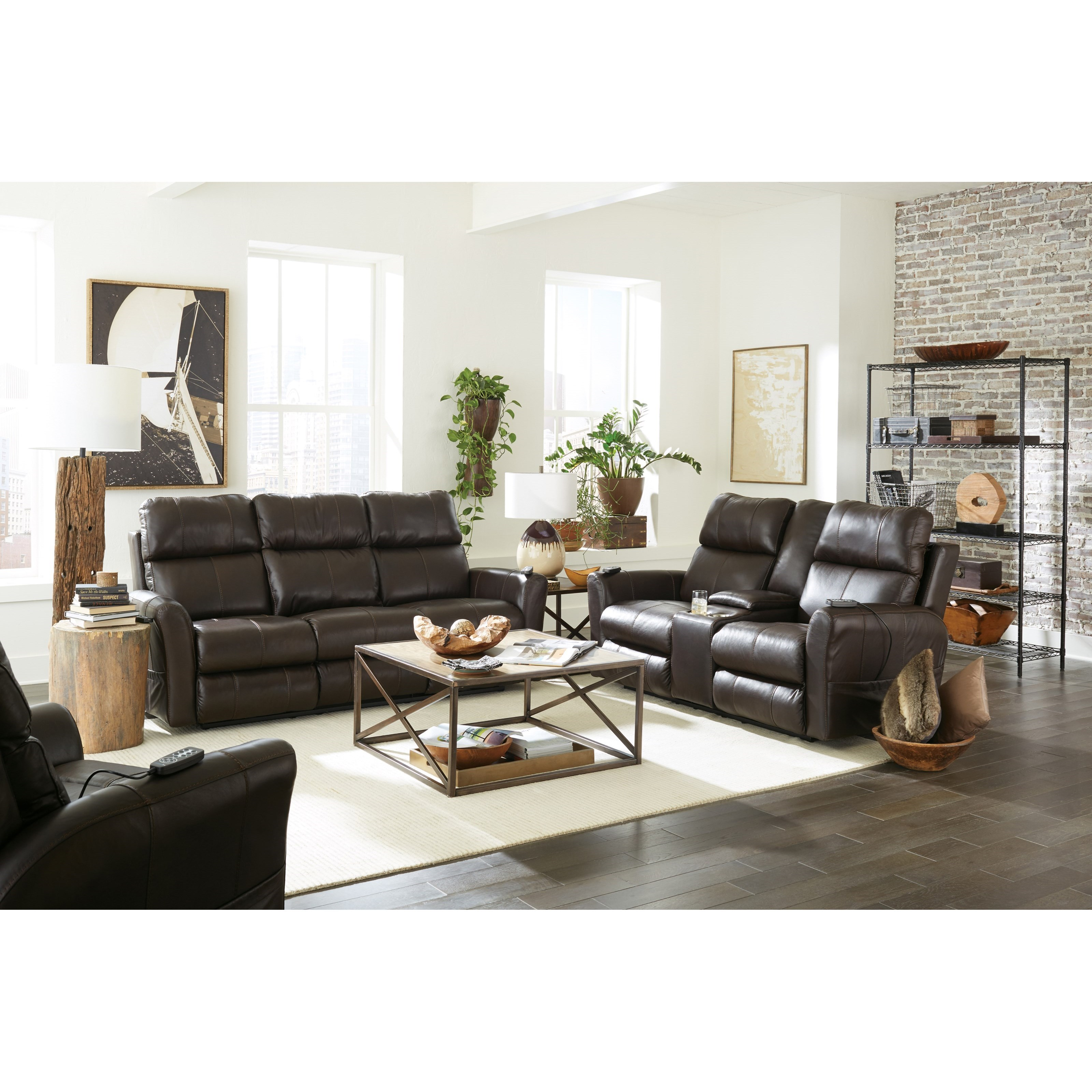 Riposo Power Reclining Living Room Group by Catnapper at Northeast Factory Direct