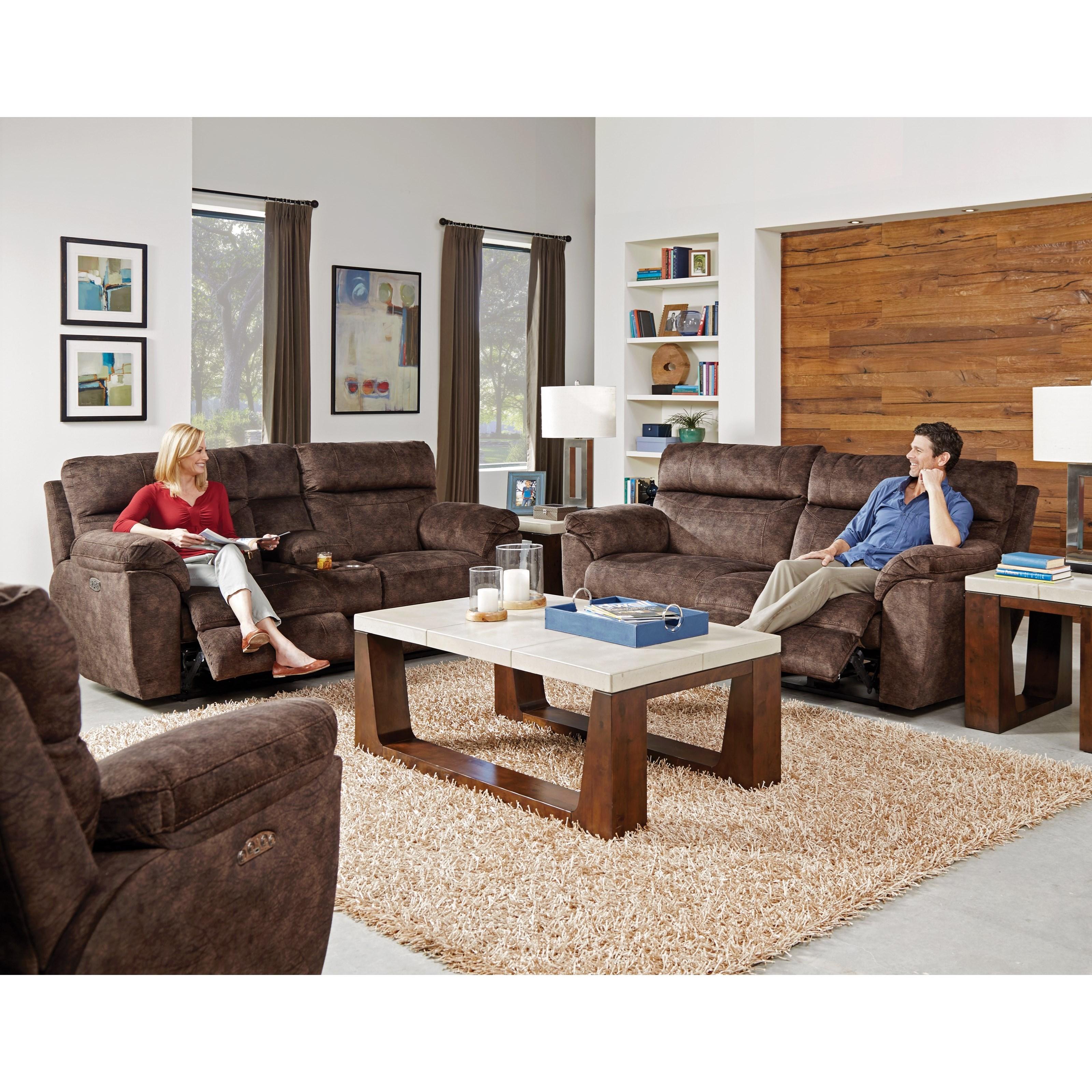 Sedona Reclining Living Room Group by Catnapper at Virginia Furniture Market