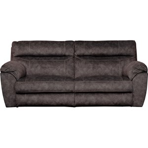 Power Lay Flat Reclining Sofa with Power Headrests