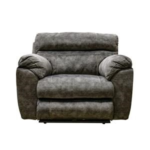 Layflat Power Recliner with Power Headrest, Footrest, and Lumbar