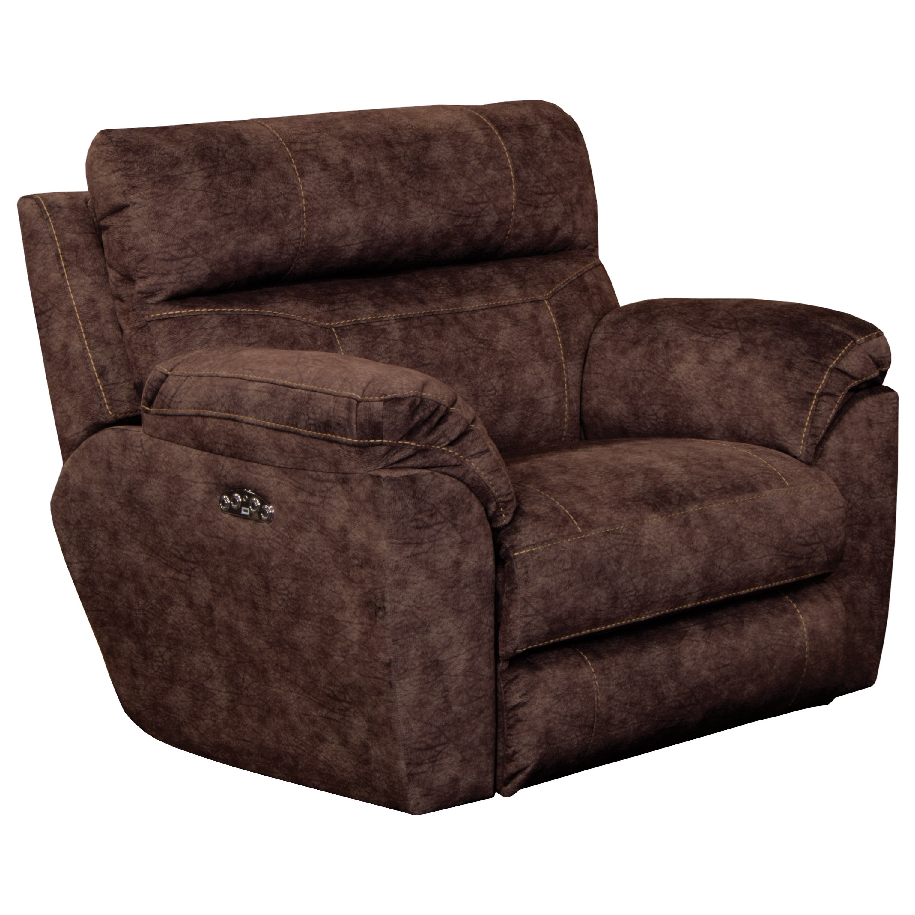 Sedona Power Lay Flat Recliner by Catnapper at Northeast Factory Direct