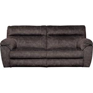 Power Headrest Lay Flat Reclining Sofa with Lumbar