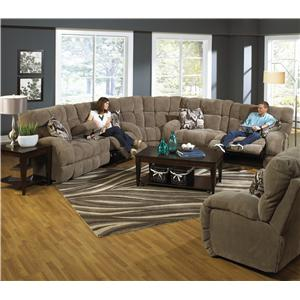 Catnapper Siesta  Reclining Sectional Sofa