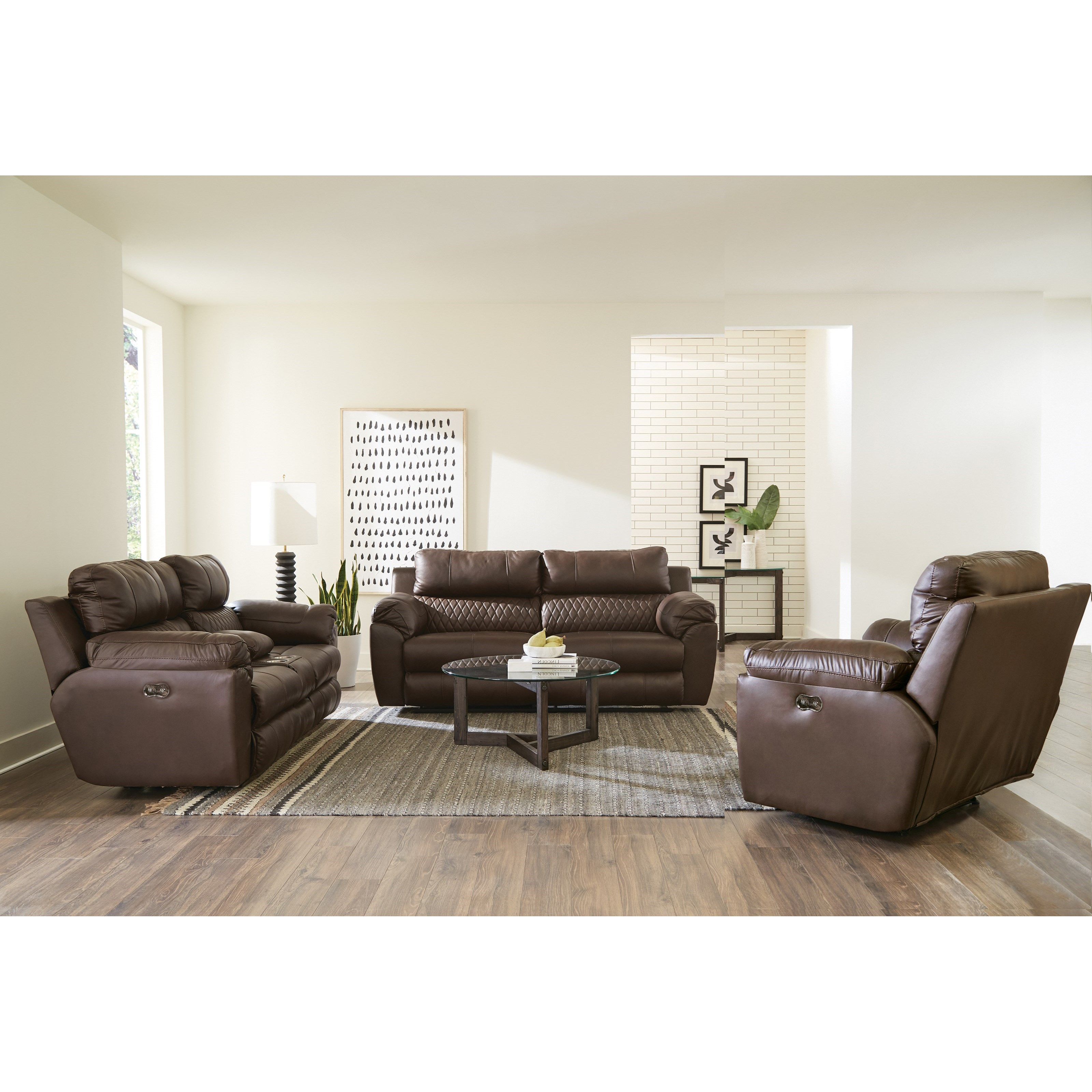 Sorrento Power Reclining Living Room Group by Catnapper at Northeast Factory Direct