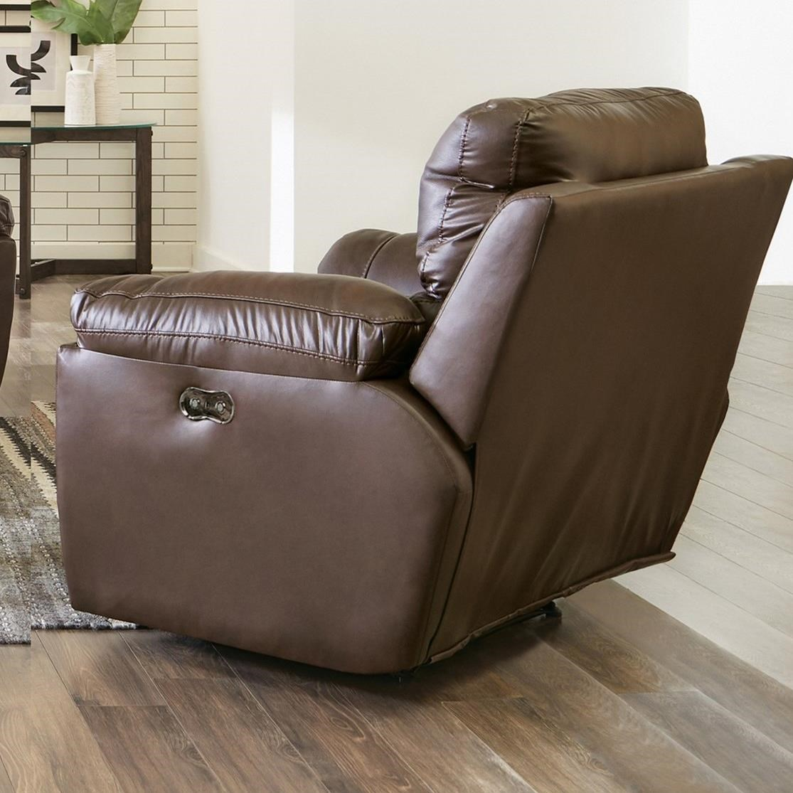 Sorrento Power Lay Flat Recliner by Catnapper at Lapeer Furniture & Mattress Center