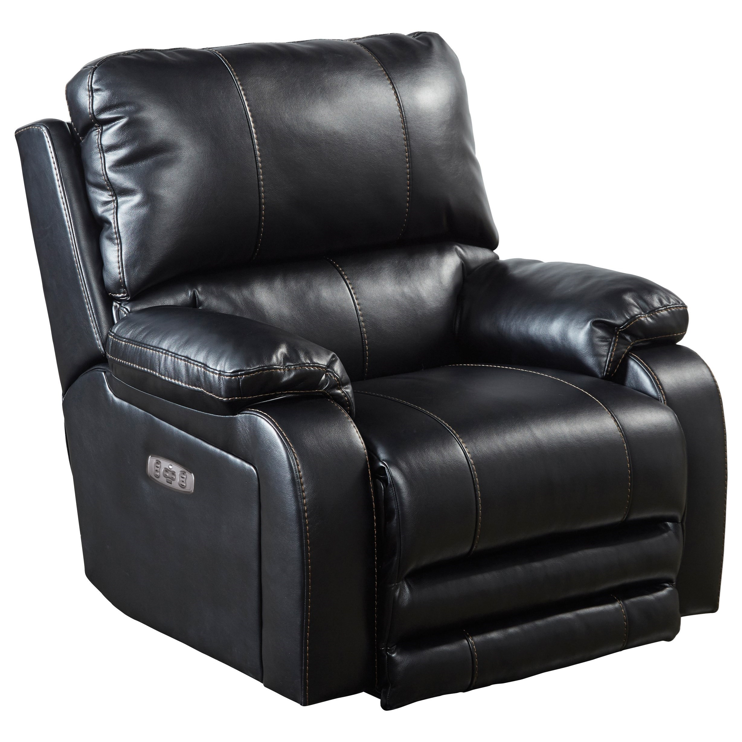 Thornton Power Lay Flat Recliner w/ Power Lumbar by Catnapper at Northeast Factory Direct