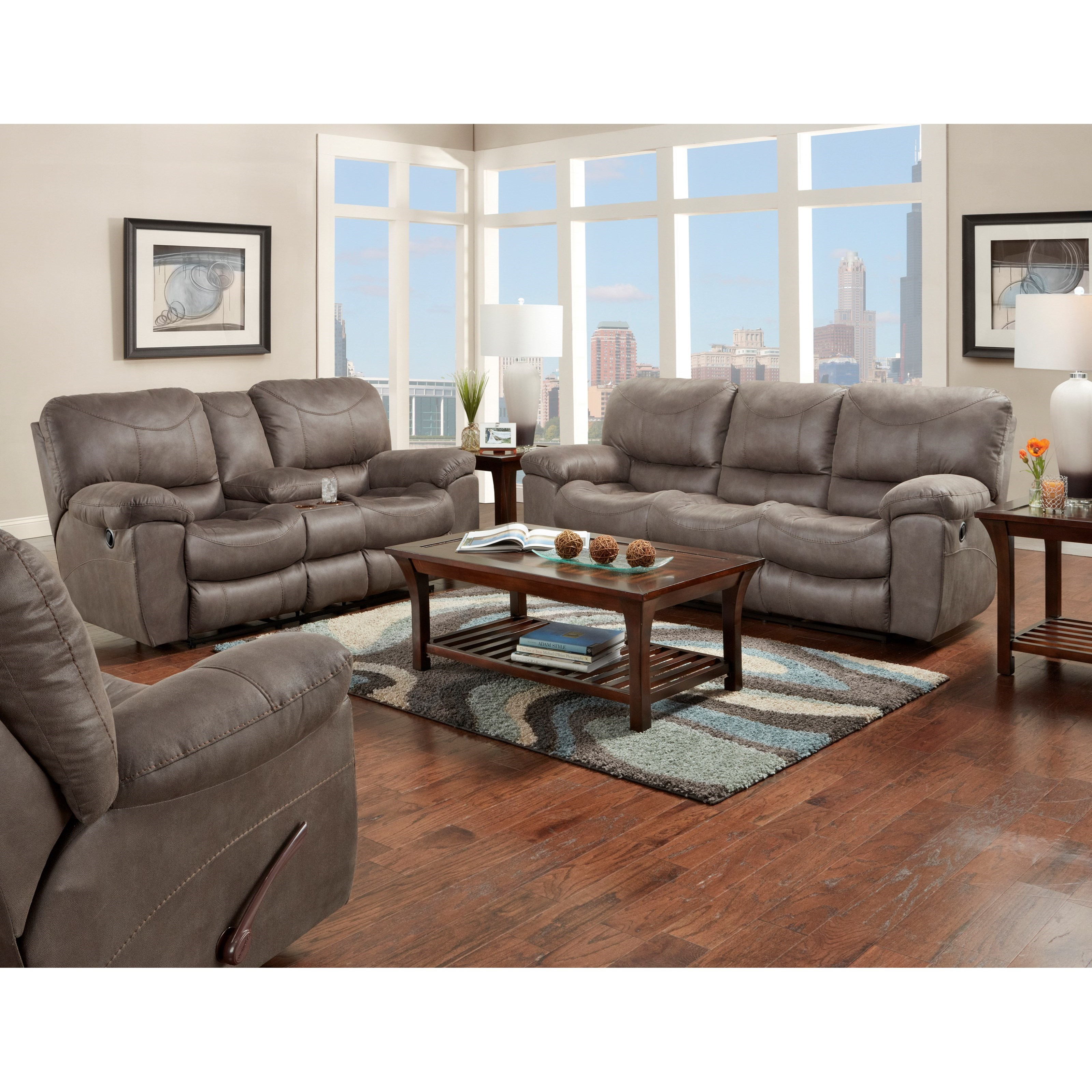 Trent Reclining Living Room Group by Catnapper at Northeast Factory Direct