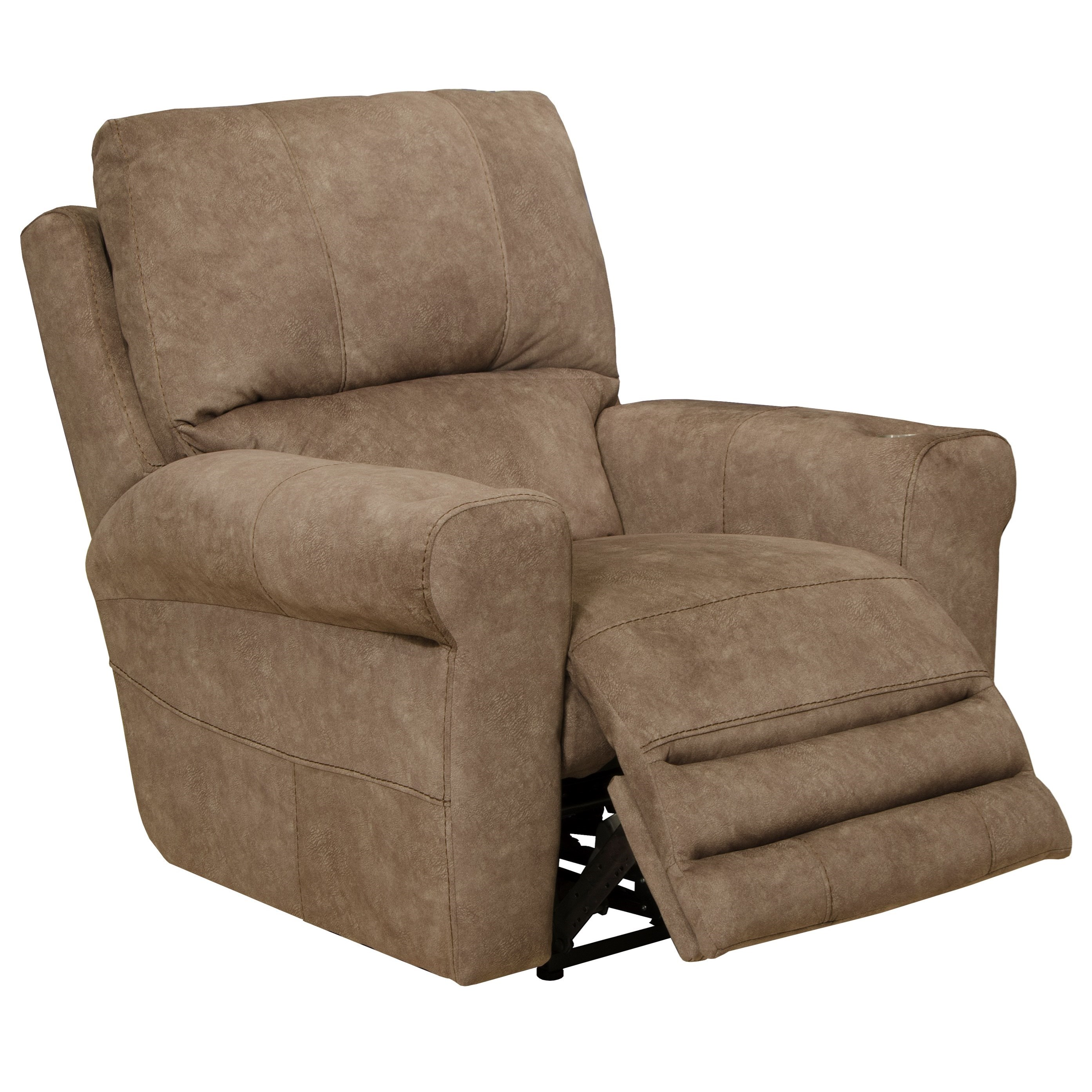 Vance Voice-Controlled Power Lay Flat Recliner by Catnapper at Standard Furniture