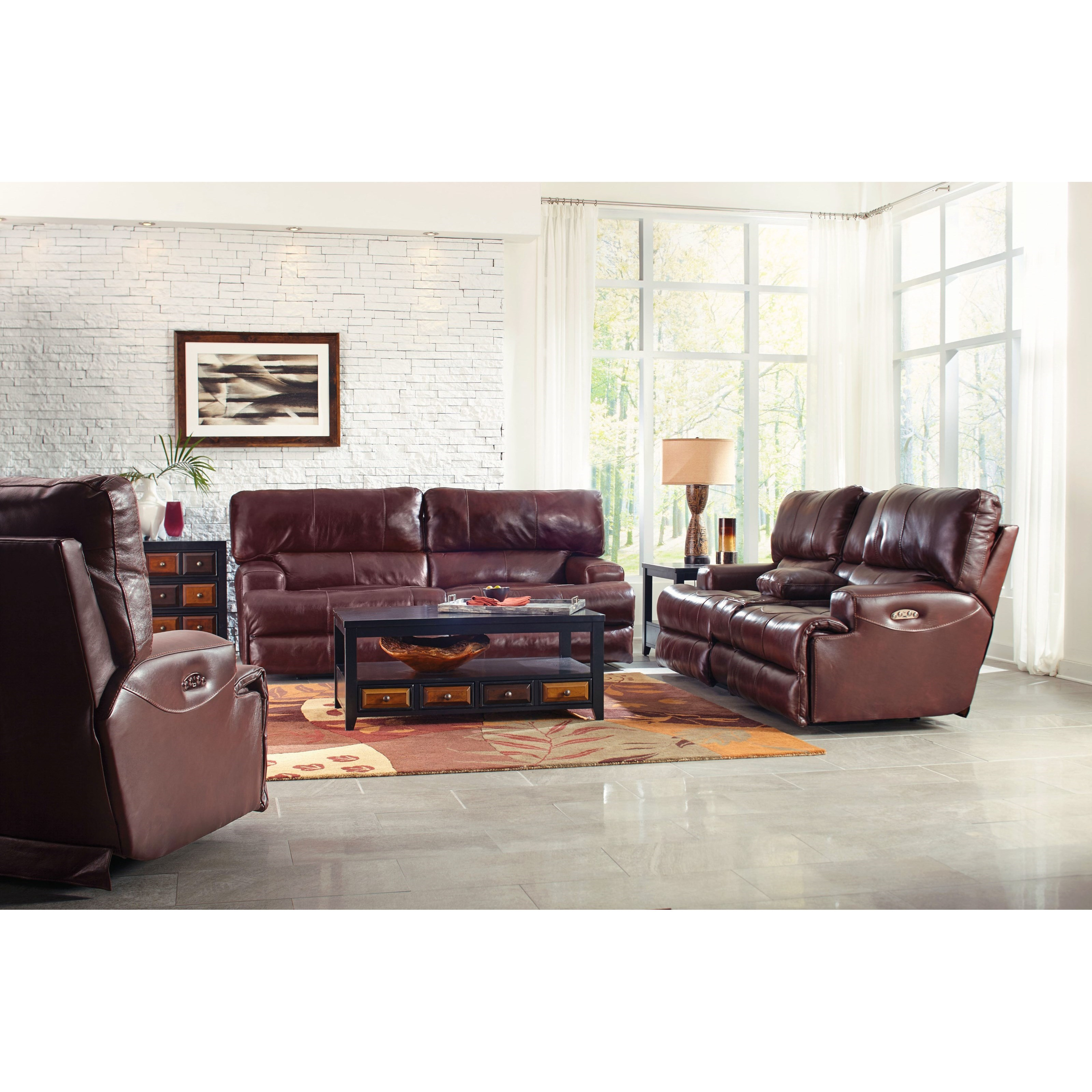 Wembley Reclining Living Room Group by Catnapper at Northeast Factory Direct