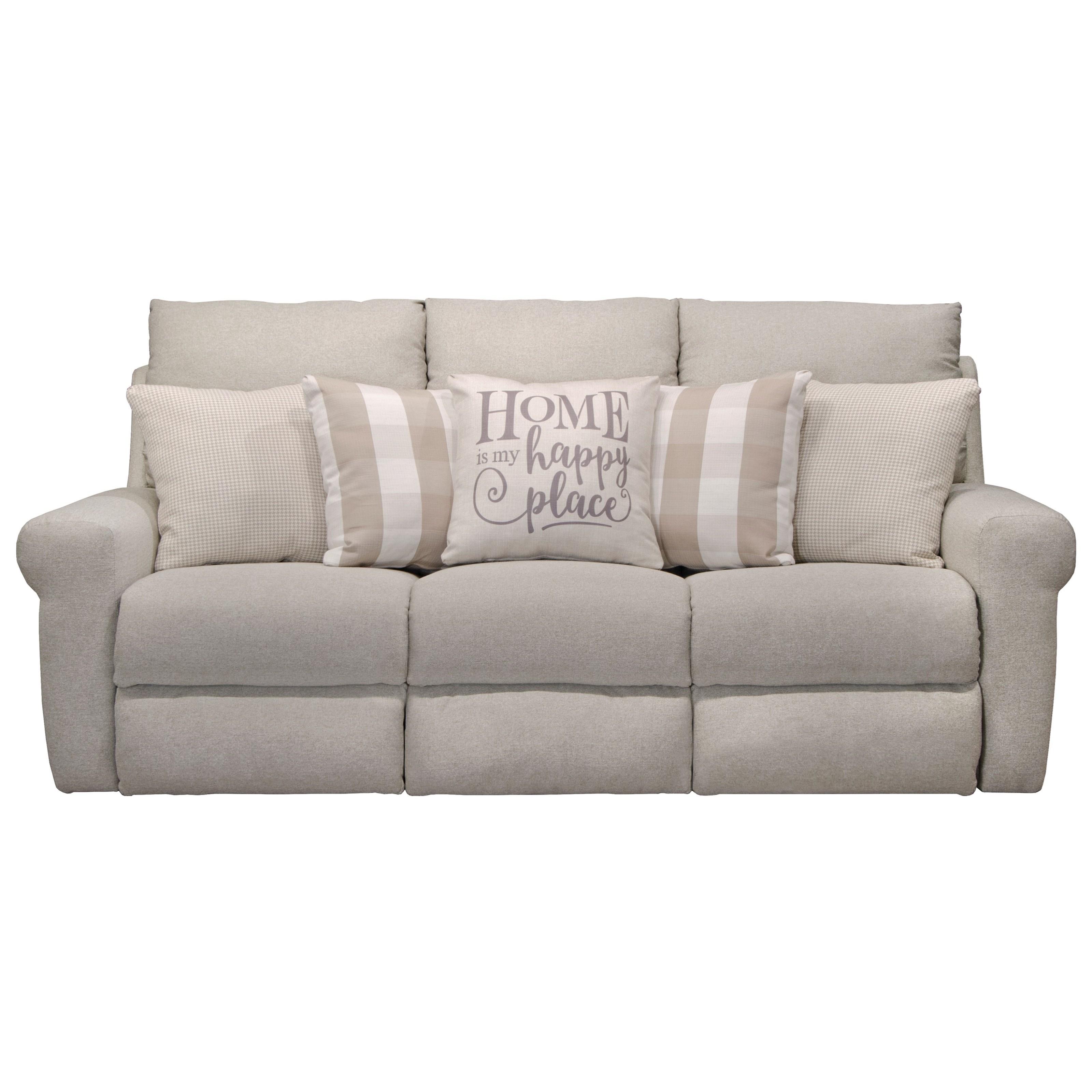 Westport Lay Flat Reclining Sofa by Catnapper at Zak's Home