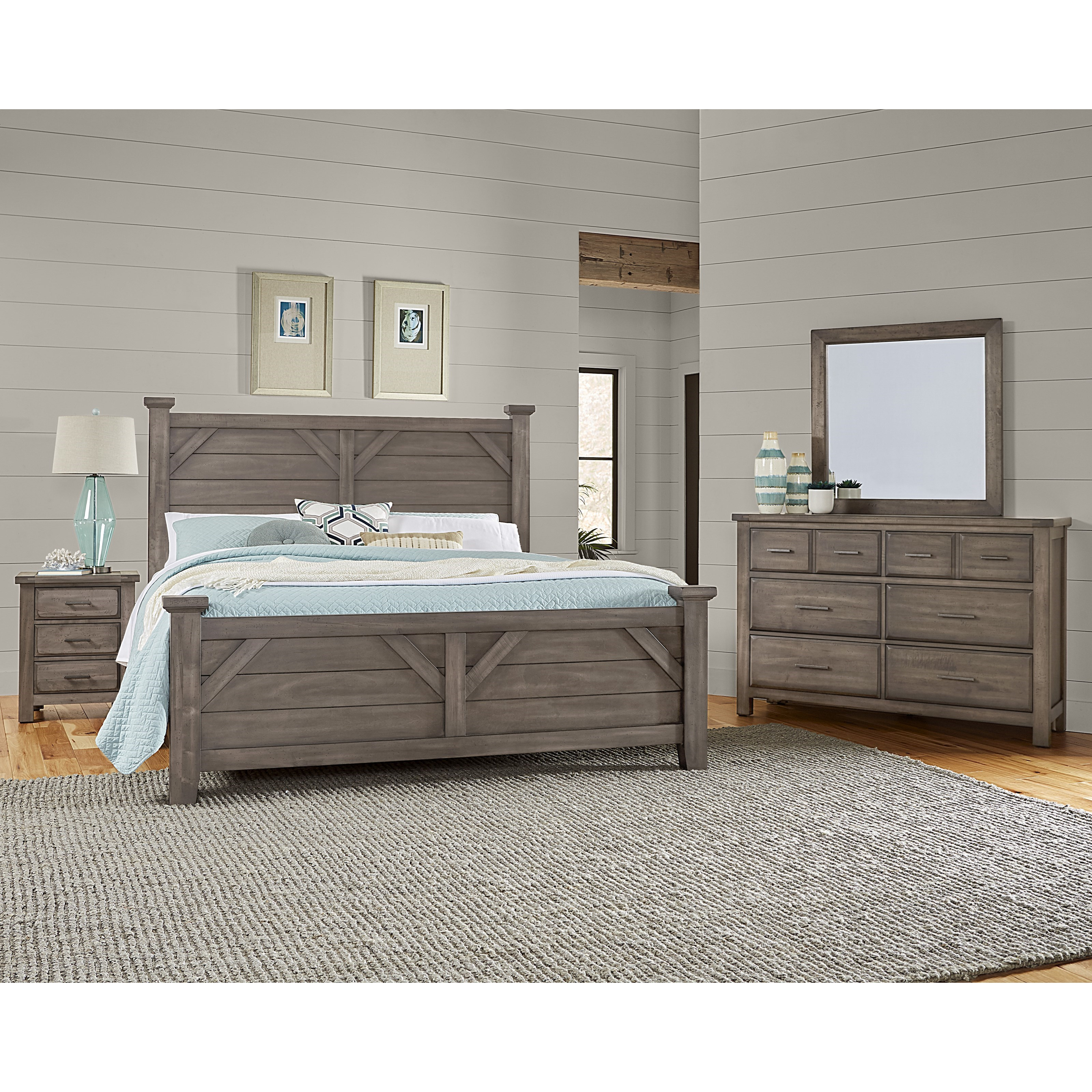 Chestnut Creek Queen Bedroom Group by Centennial Solids at Rooms and Rest
