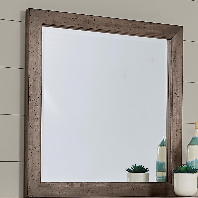 Simone Landscape Mirror  by Vaughan-Bassett at Crowley Furniture & Mattress
