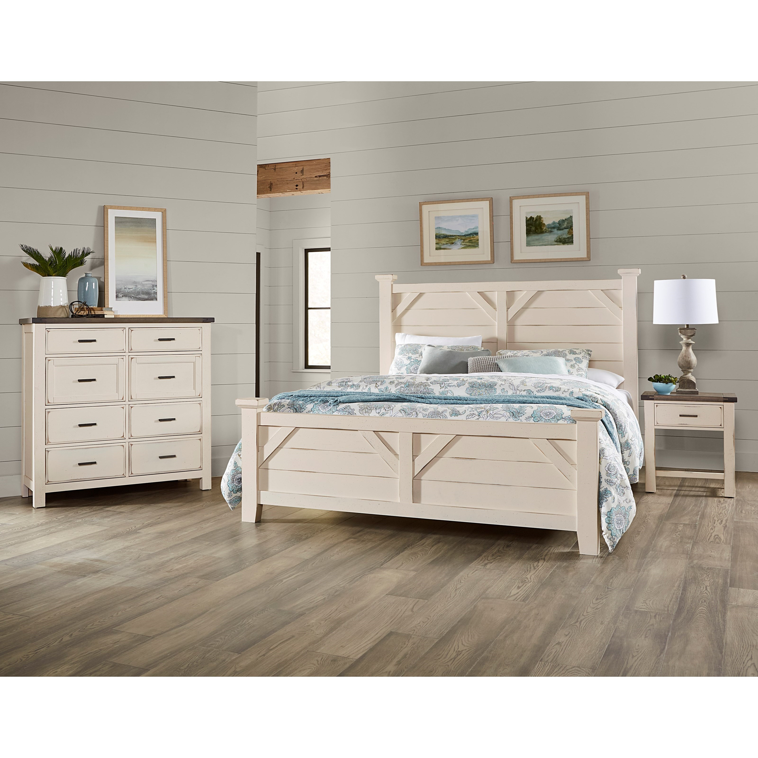 Chestnut Creek California King Bedroom Group by Centennial Solids at Rooms and Rest