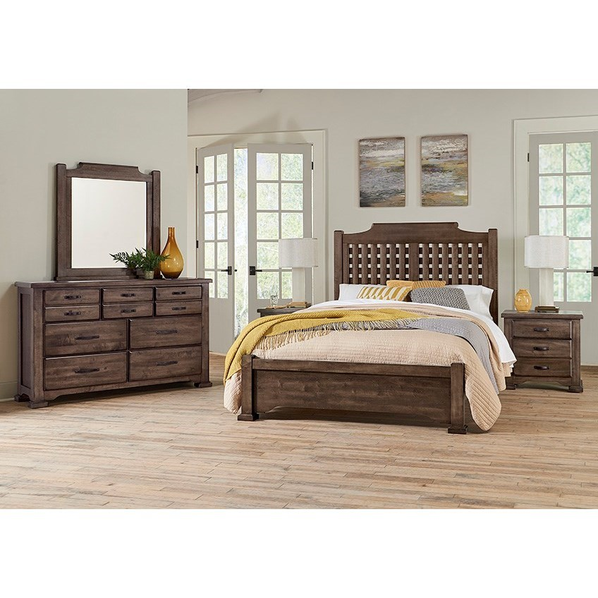 Grayson Manor California King Bedroom Group by Centennial Solids at Rooms and Rest