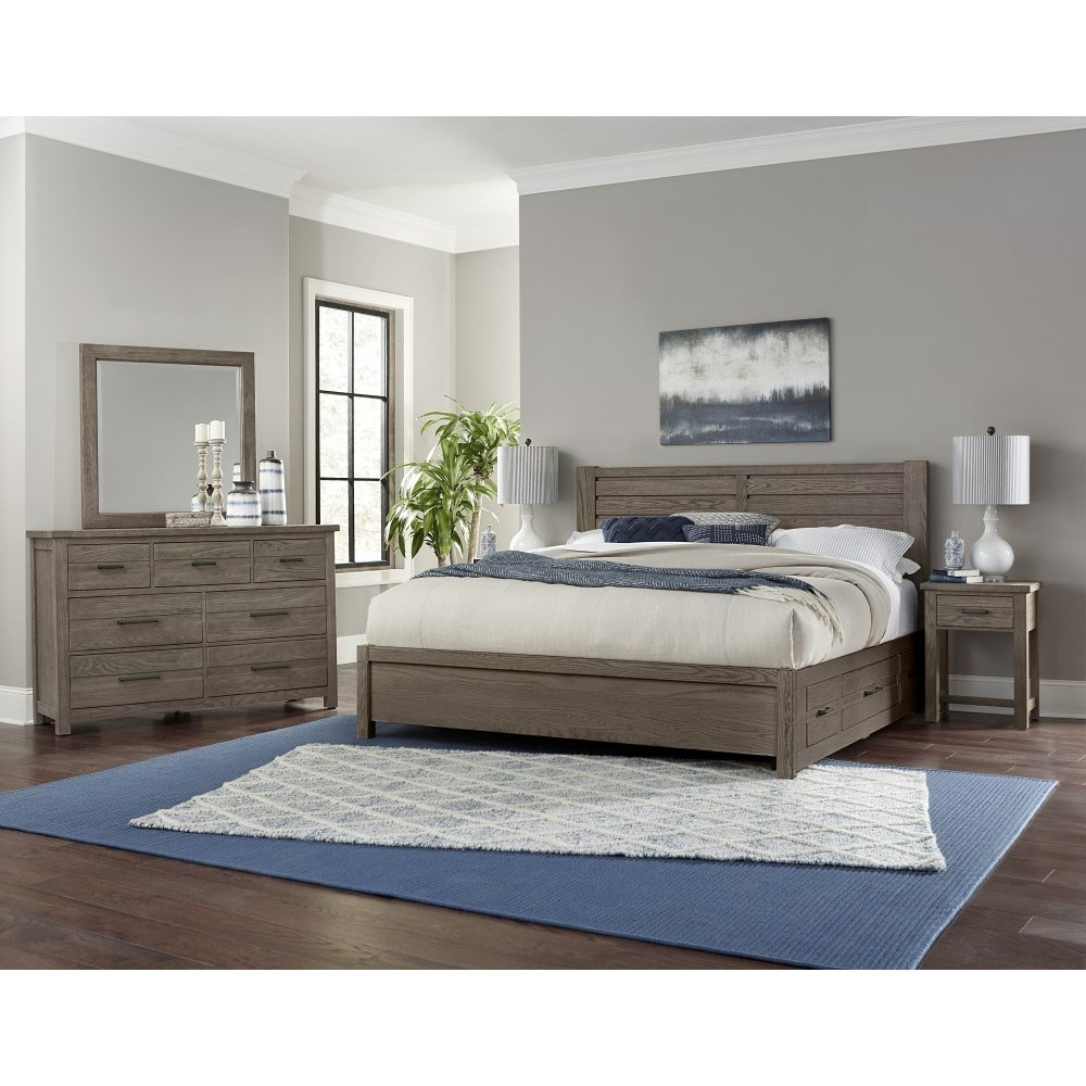 Highlands King Bedroom Group by Centennial Solids at Rooms and Rest
