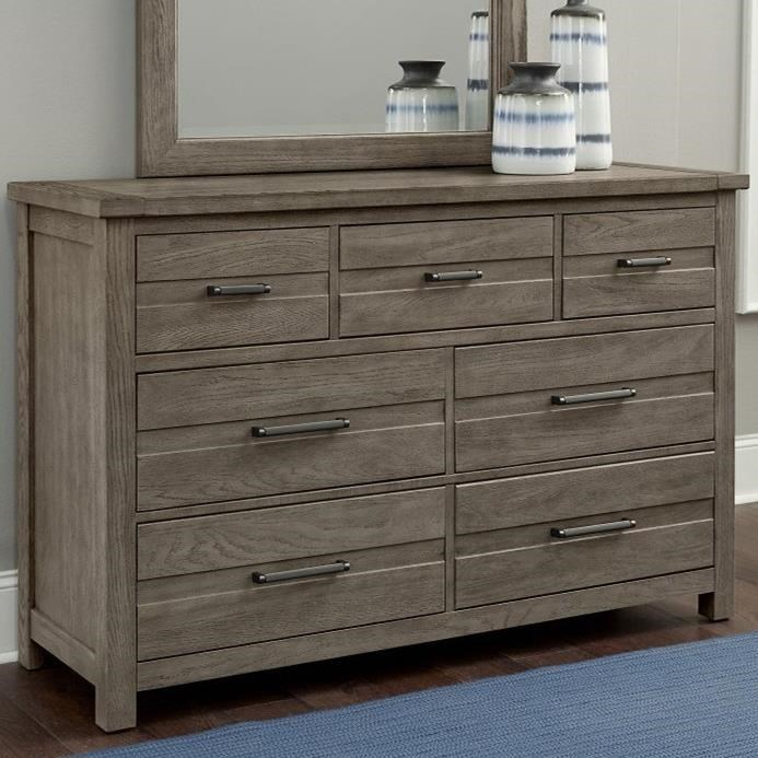Highlands 7-Drawer Dresser by Centennial Solids at Home Collections Furniture