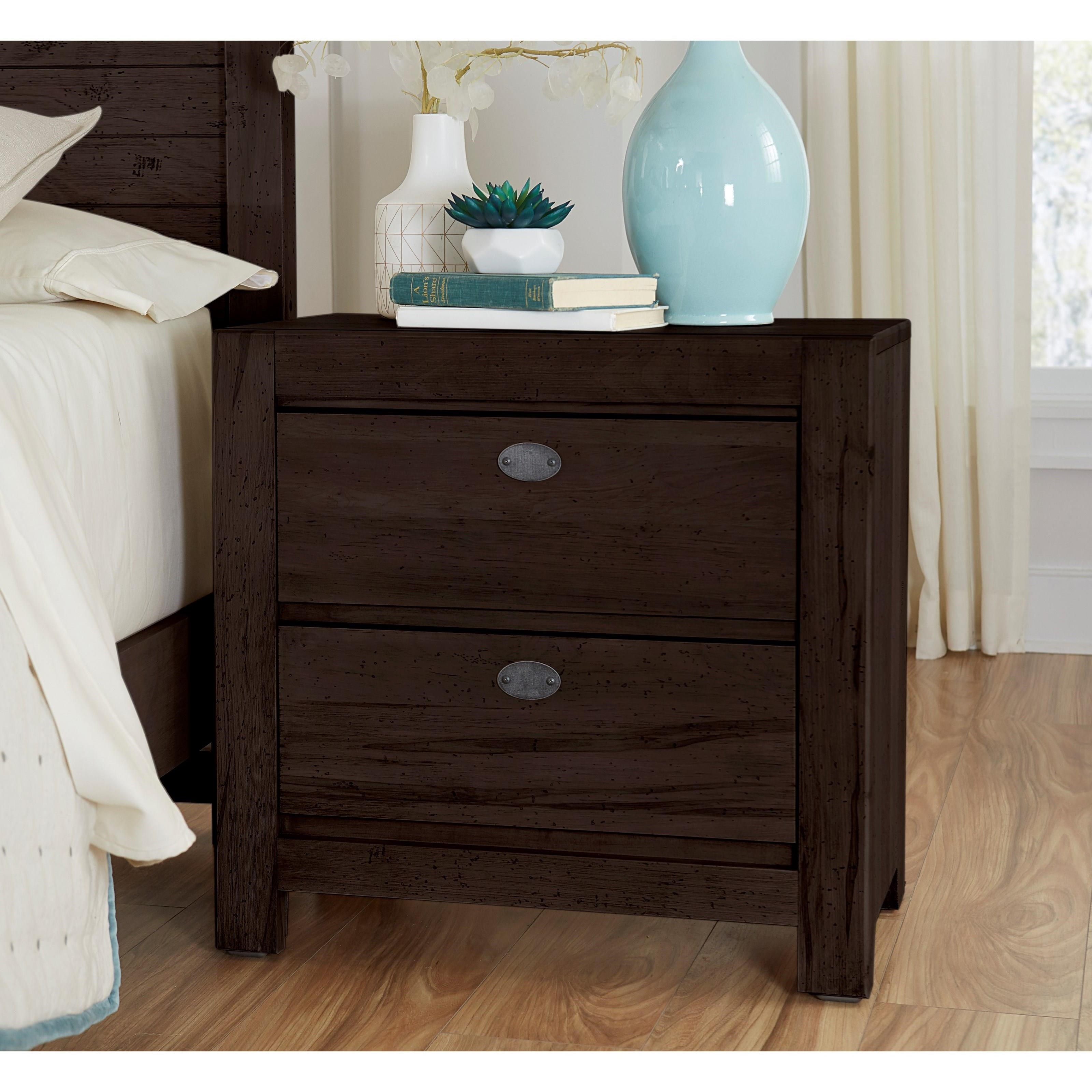 Touche Nightstand by Centennial Solids at Home Collections Furniture