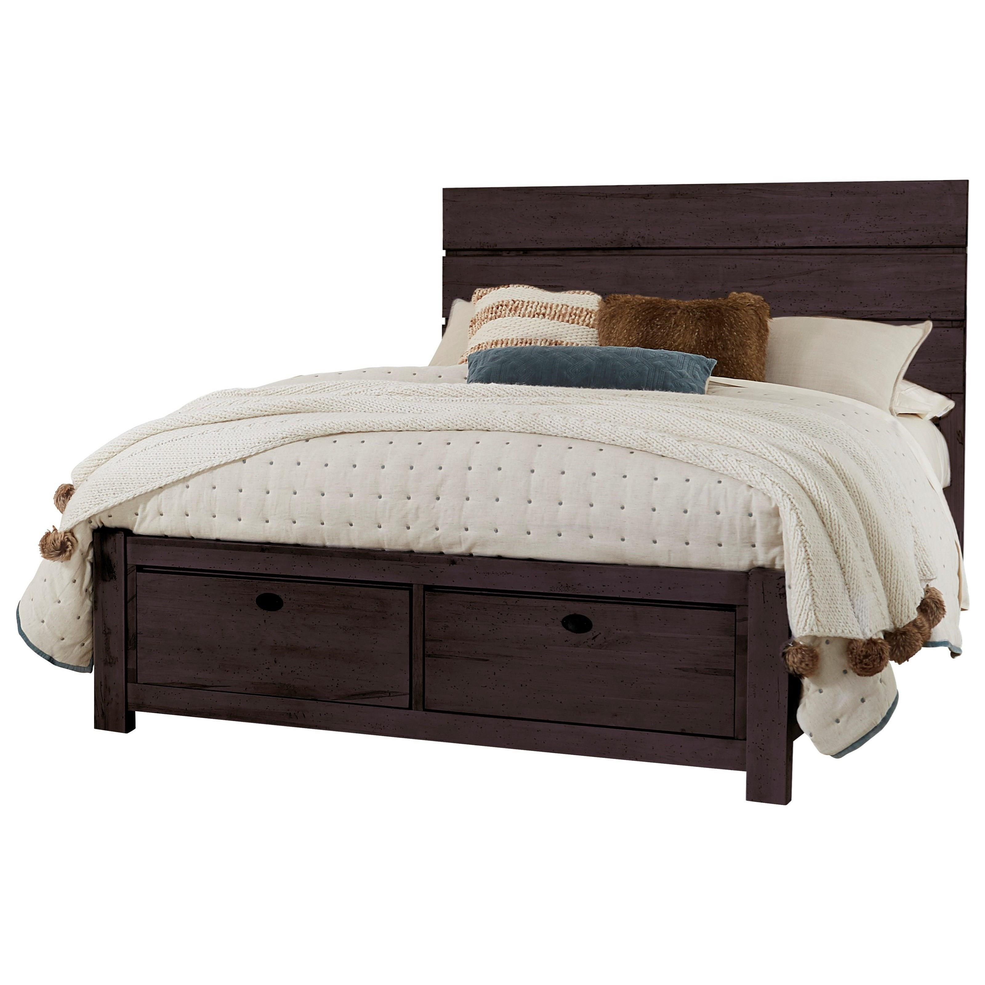 Touche King Storage Bed by Centennial Solids at Rooms and Rest