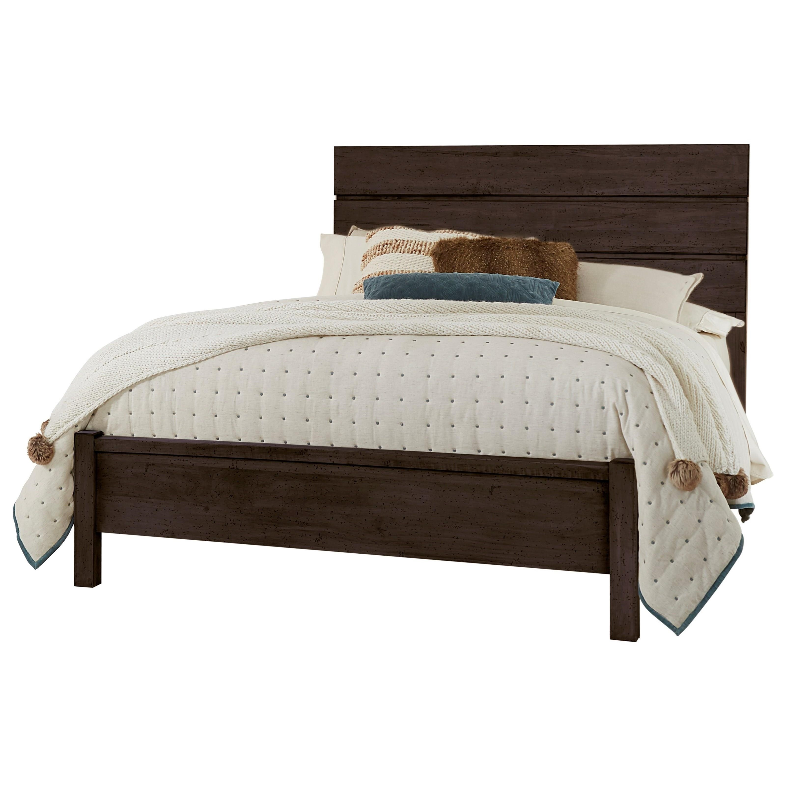 Touche King Platform Bed  by Centennial Solids at Jacksonville Furniture Mart