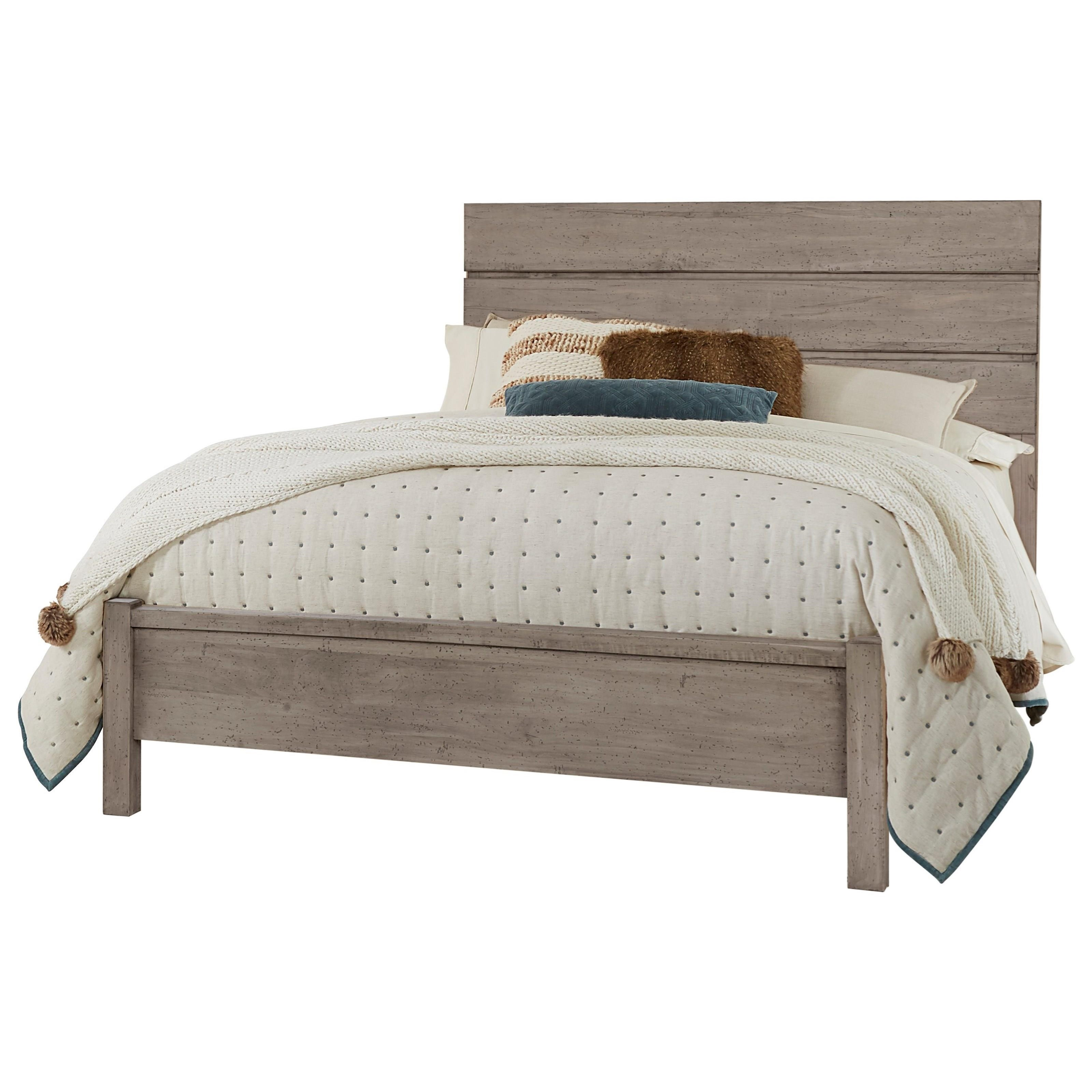 Touche King Platform Bed  by Centennial Solids at Rooms and Rest