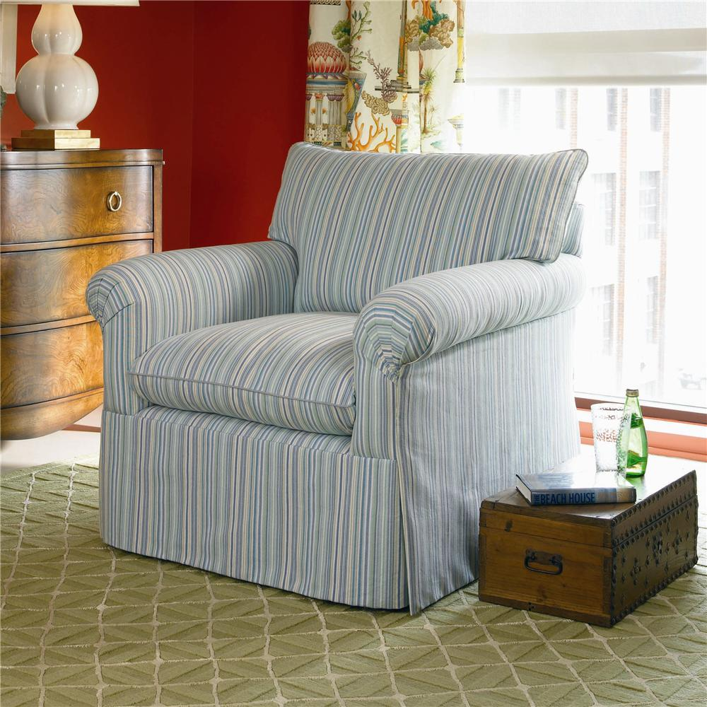 1000 Multiple Length CustomSeries Customizable Chair by Century at Baer's Furniture
