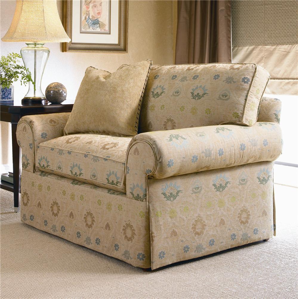 2000 Eight Step Custom Chair n Half by Century at Baer's Furniture