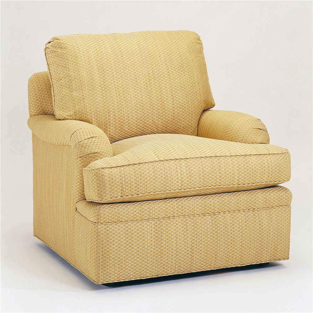 2000 Eight Step Custom Customizable Chair by Century at Sprintz Furniture