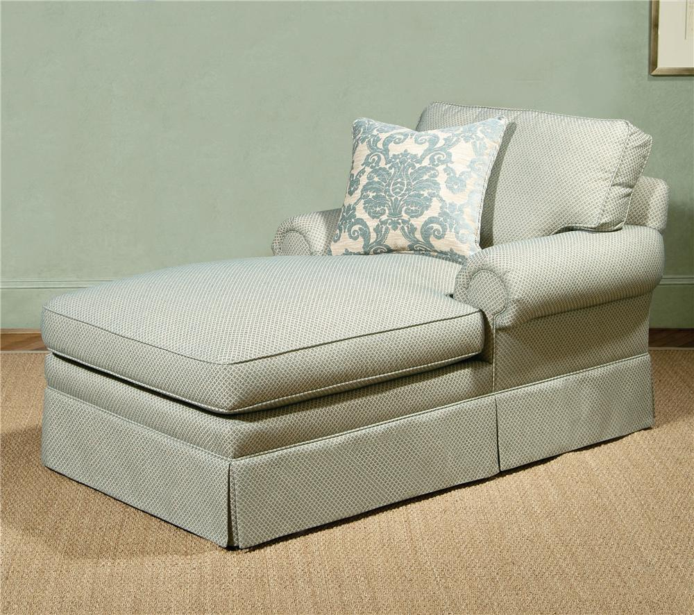 2000 Eight Step Custom 54 to 100 Inch Customizable Chaise by Century at Sprintz Furniture
