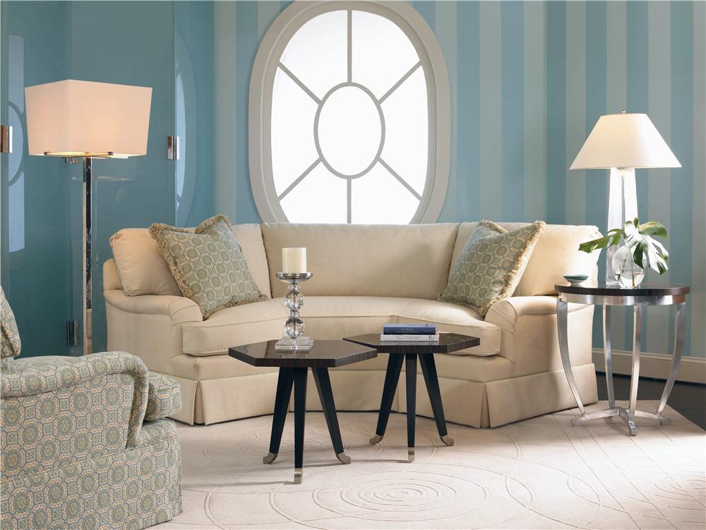 2000 Eight Step Custom Wedge Sofa by Century at Baer's Furniture