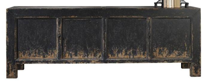 Archive Home and Monarch Shiyan Four Door Chest by Century at Alison Craig Home Furnishings