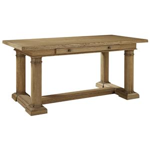 Century Archive Home and Monarch Oak Column Desk
