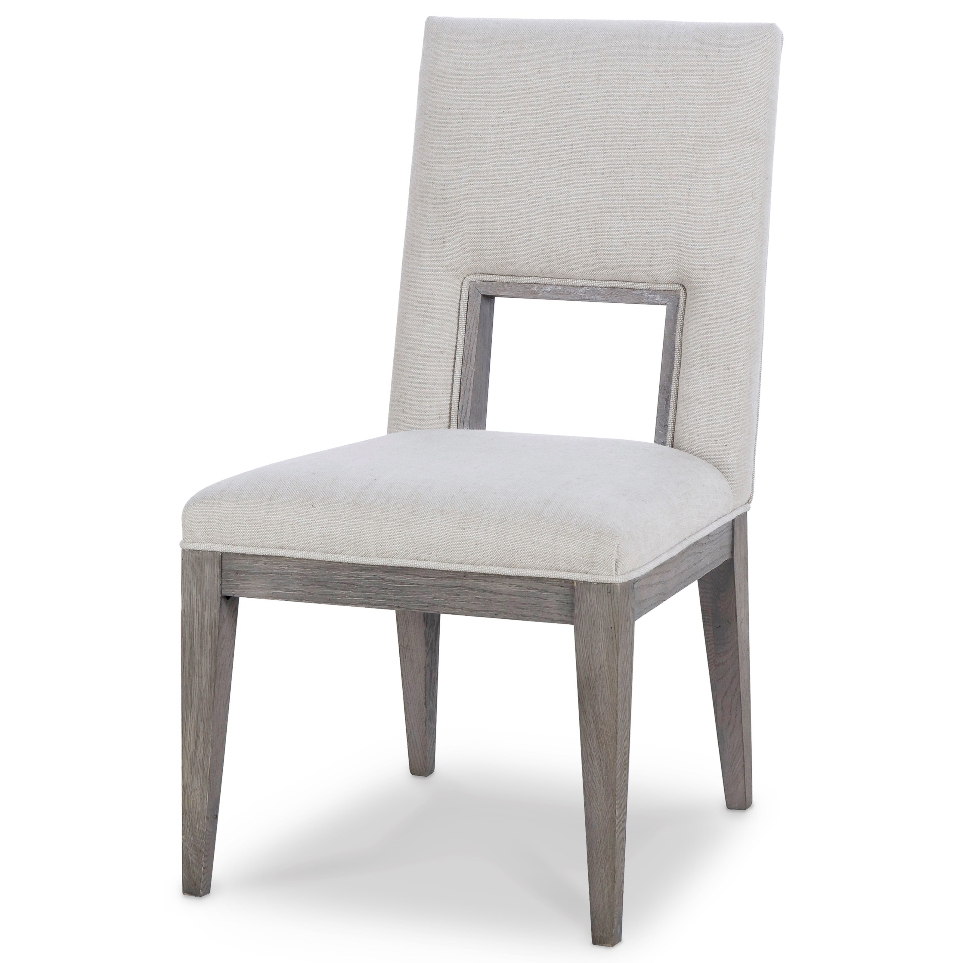Archive Home and Monarch Kendall Oak Side Chair by Century at Alison Craig Home Furnishings