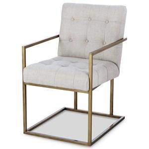 Kendall Metal Arm Chair