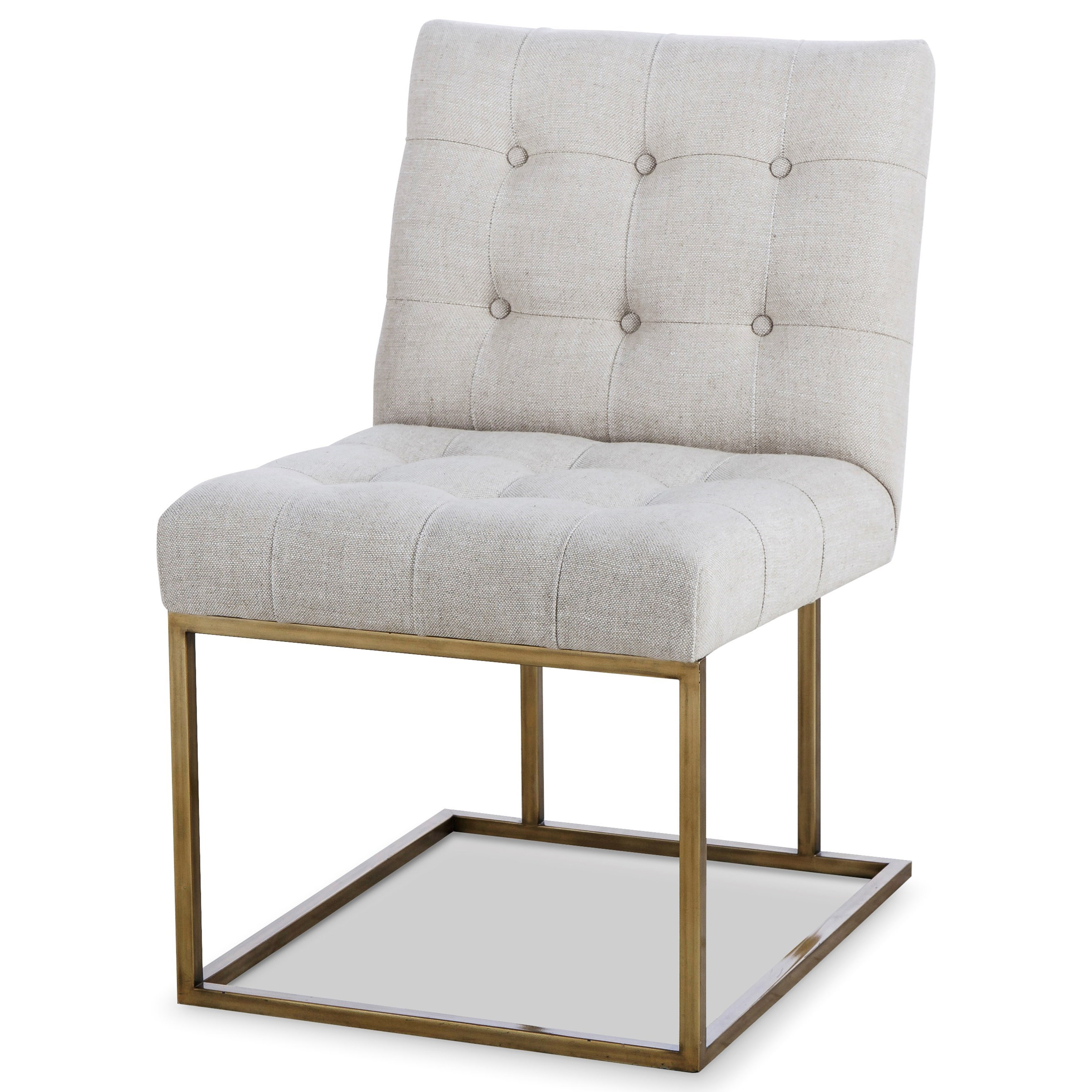 Archive Home and Monarch Kendall Metal Side Chair by Century at Alison Craig Home Furnishings