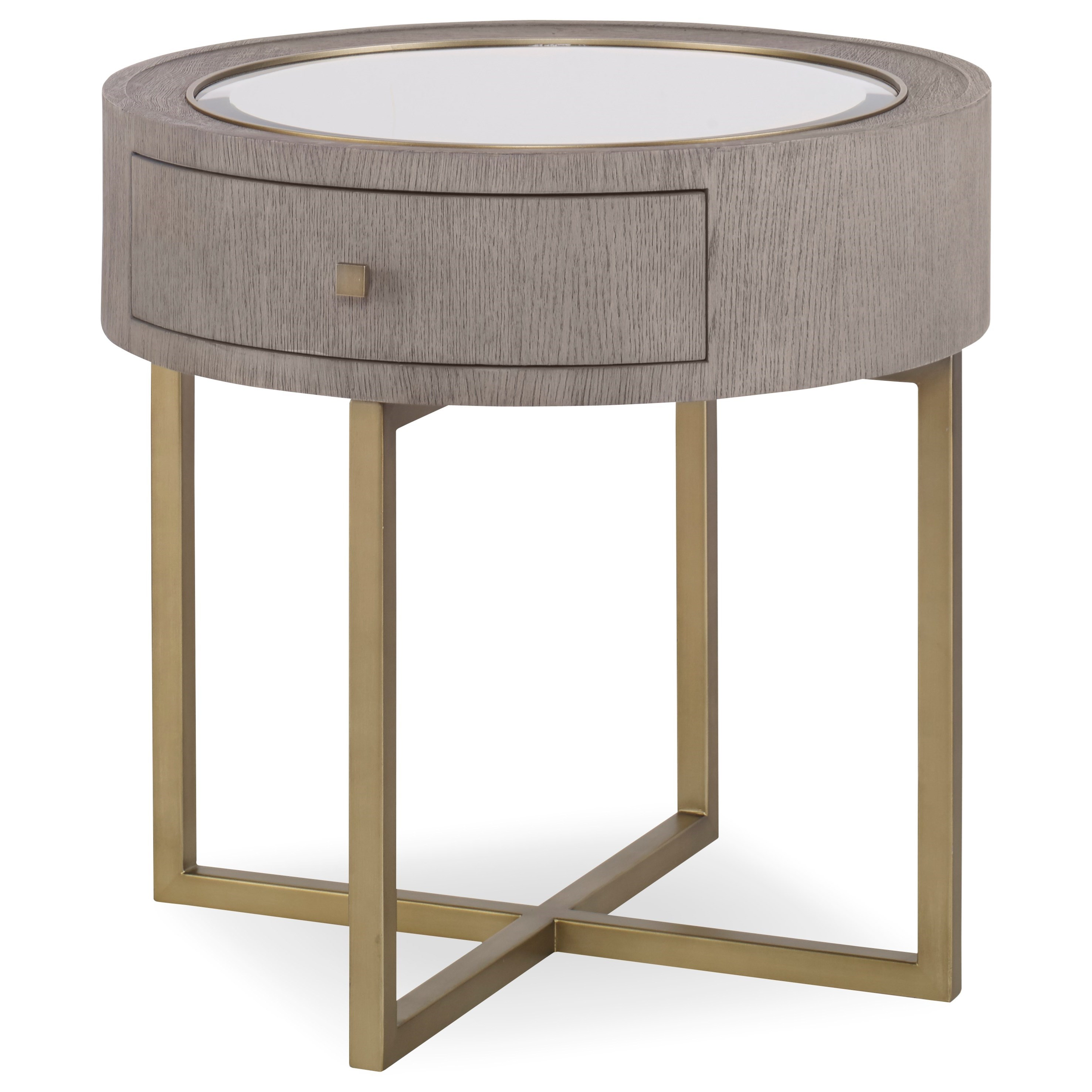Archive Home and Monarch Kendall End Table by Century at Alison Craig Home Furnishings