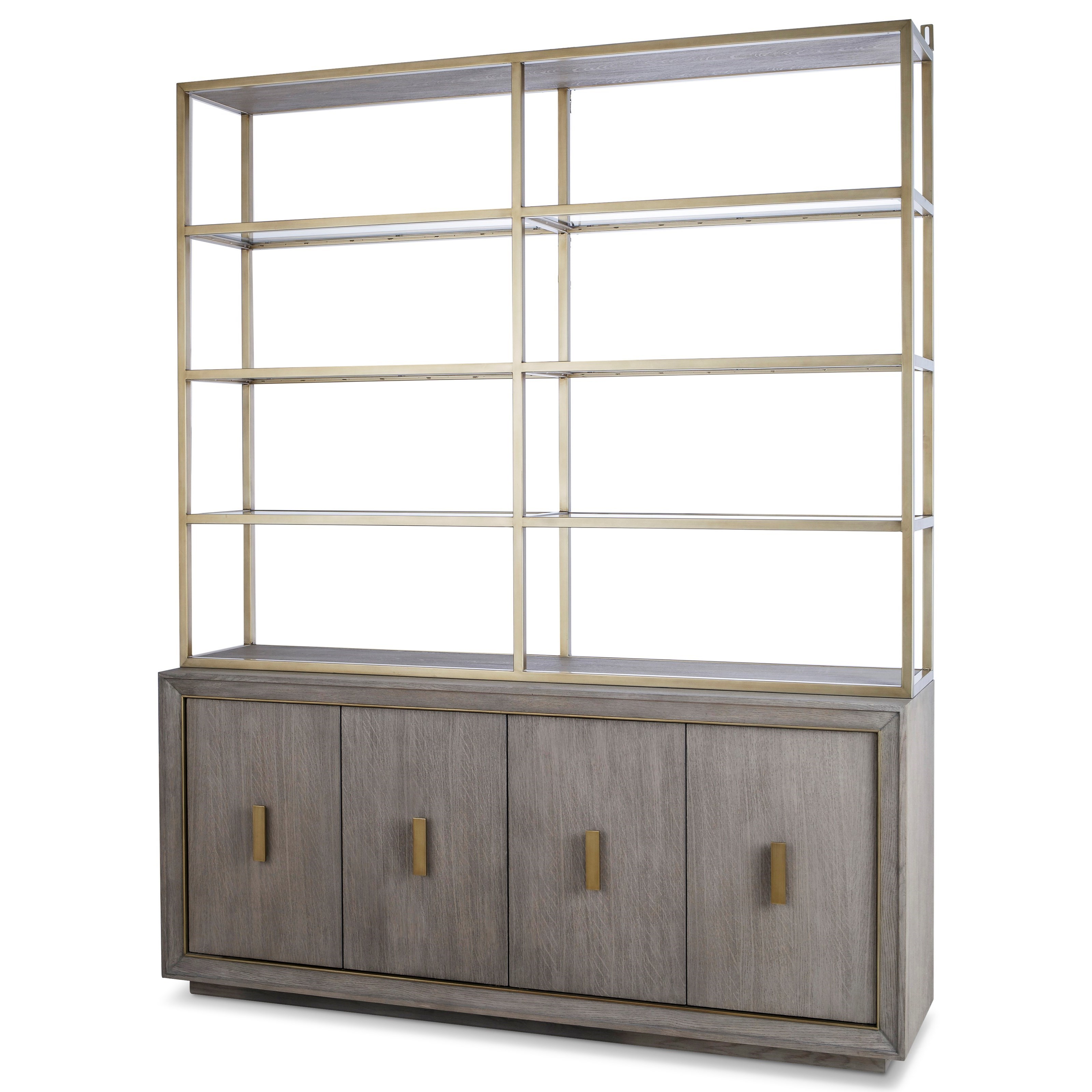 Archive Home and Monarch Kendall Dining Credenza and Hutch by Century at Alison Craig Home Furnishings