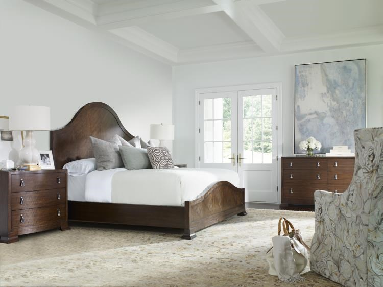 Citation Wood Panel Bedroom Group by Century at Sprintz Furniture